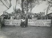 Celebración del 25 aniversario de la República Española