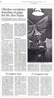 El Mundo, 22 de noviembre de 2006