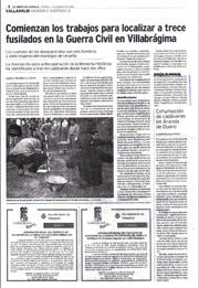El Norte de Castilla, 13 de agosto de 2004
