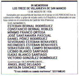 El Norte de Castilla, 13 de agosto de 2006