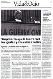 El Norte de Castilla, 29 de noviembre de 2006