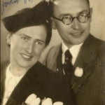Janez Titan with his wife Zinka Skrbič, 06/May/1941