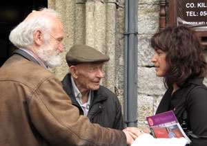 Séan Edwards, Bob Doyle and Lidia Bocanegra, Saint Mary's Church, Inistioge (28/06/2008)