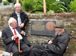 Commemorative plaque to George Brown, St. Mary's Graveyard, Inistioge (28/06/2008)
