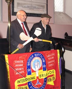 Jack Jones (left) and Bob Doyle brigadiers, Saint Mary's Church, Inistioge (28/06/2008)