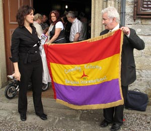 Lidia Bocanegra and Manus O'Riordan, Saint Mary's Church, Inistioge (28/06/2008)